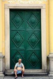 Old man sitting at Cathedral : by travelforlife, Views[22]