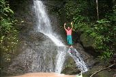 One of the Lisu tribesmen climbed up the fall and posed for us!: by traveling_jungs, Views[349]