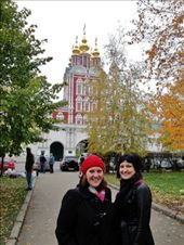 My friend and I at Novodevichy Convent: by treefrog, Views[26]