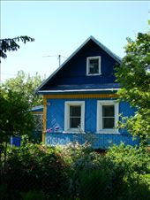 Love the brightly coloured houses dotted around the small town: by treefrog, Views[23]