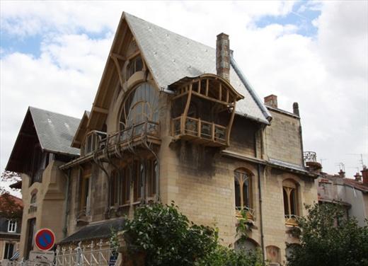 art nouveau architecture ecole nancy nancy france
