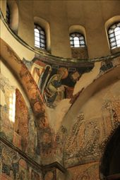 Defaced frescoes repaired, Studentica Monastery: by vagabonds, Views[189]