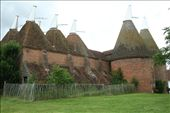 Oast towers and clouds, Sissinghurst Castle: by vagabonds, Views[174]