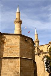 St. Nick's Church and Selimiye Mosque, North Nicosia: by vagabondstoo, Views[9]