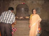 Shiva Linga in one of the caves.: by vinaygy, Views[107]