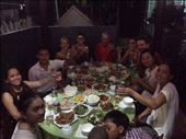 Family dinner at HomeStay with owner and other guests. : by wendyandkevin, Views[16]