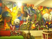 Part of the common room at Moustache Hostel: by wheresmypants, Views[28]