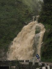 Waterfall after the rains and after the landslide palaver: by will-n-raina, Views[214]