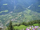 Looking down onto a town in Northern Italy - Looks like a scene from the sound of music!: by woof, Views[103]
