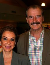 Former President Vicente Fox and First Lady Marta Fox of Mexico: by wyatt_76, Views[25]