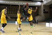 Senior Maurice O'Field (# 5)  blocks shot from opponents drive to the lane.: by wyatt_76, Views[90]