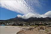 Cloud blanketing Table Mountain (taken from Camps Bay beach).: by yvonnebooth, Views[95]