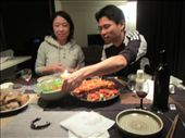Stove top lasanga with Ryo and Narumi - last supper in Japan: by zioned, Views[99]